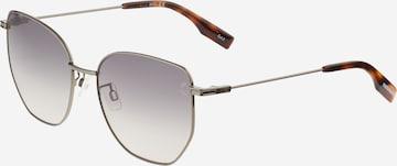 McQ Alexander McQueen Слънчеви очила в сребърно