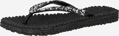 ILSE JACOBSEN T-bar sandals in Black / White, Item view
