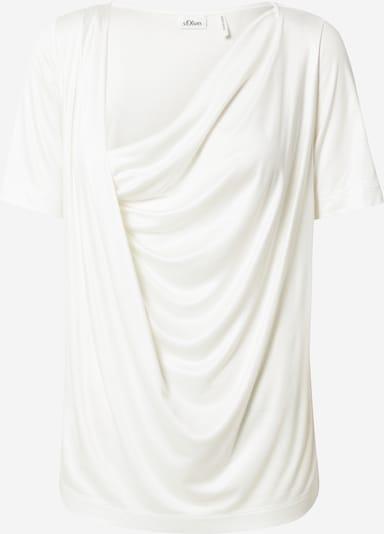 s.Oliver BLACK LABEL Shirt in de kleur Wit, Productweergave