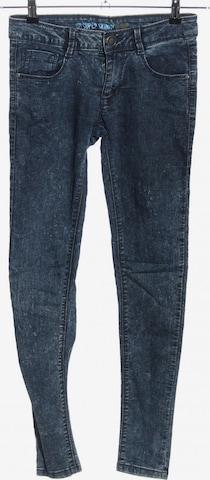 Denim Co. Skinny Jeans in 24-25 in Blau