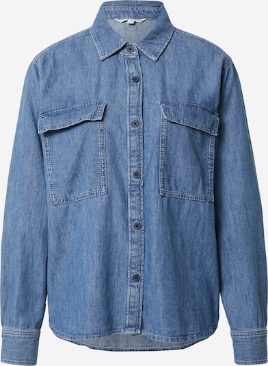 TOM TAILOR DENIM Bluse in blue denim, Produktansicht