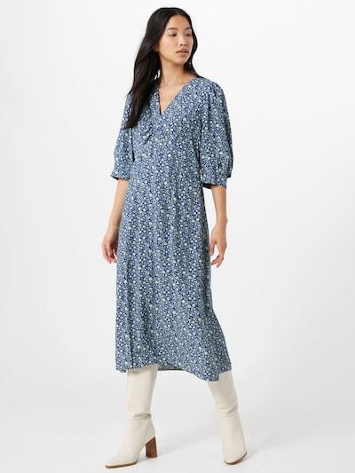Noa Noa Kleid 'Blossom' in blau, Modelansicht