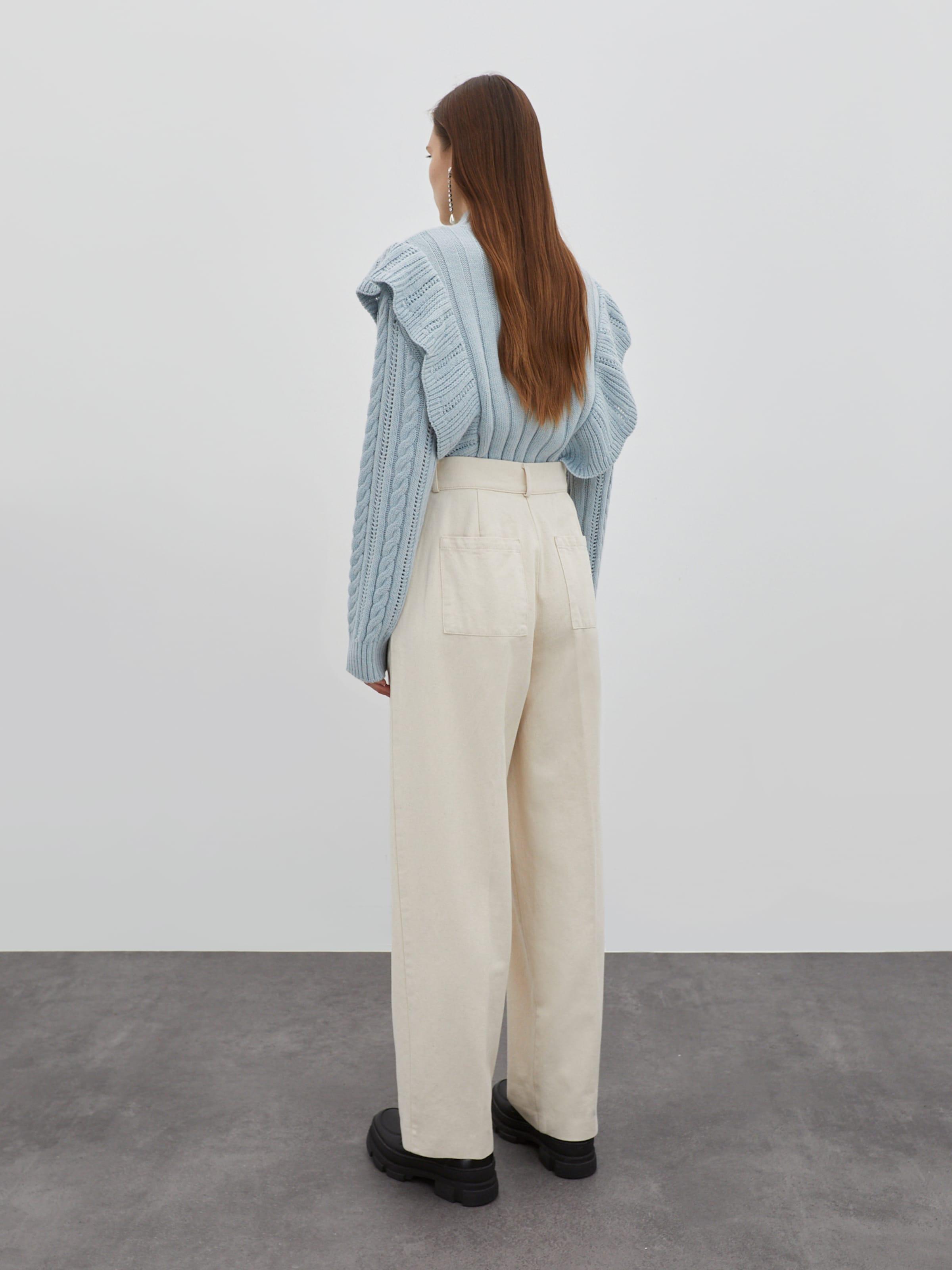 EDITED Jeans 'Chiara' in beige