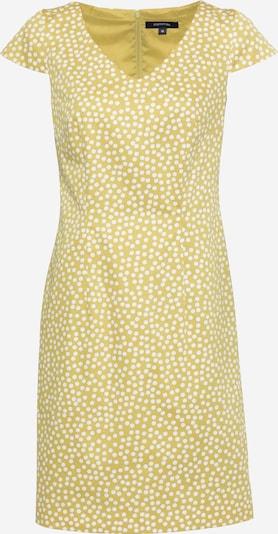 COMMA Geblümtes Kleid mit U-Ausschnitt in hellgrün, Produktansicht