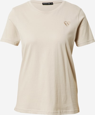 Stitch and Soul Shirt in beige, Produktansicht