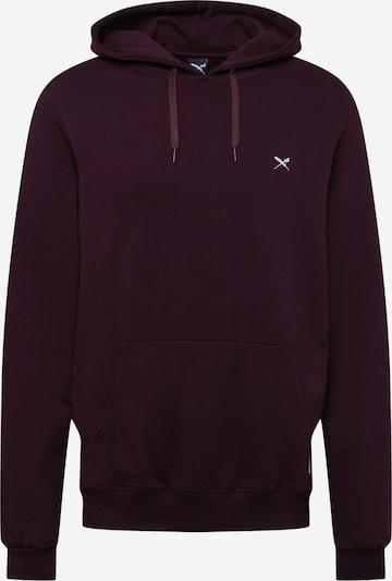 Iriedaily Sweatshirt in aubergine, Produktansicht