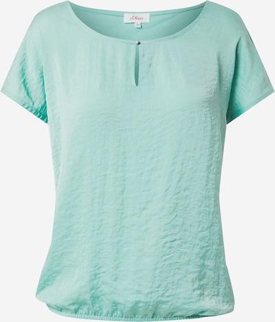 s.Oliver Shirt in de kleur Jade groen, Productweergave