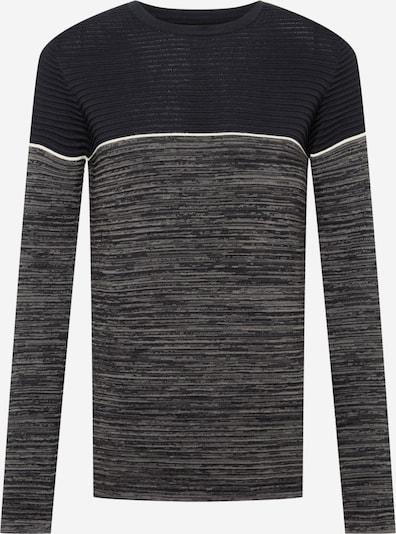 INDICODE Džemperis 'Mora', krāsa - melns / raibi melns / balts, Preces skats