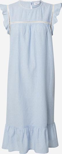 SAINT TROPEZ Kleid 'Afia' in hellblau / weiß, Produktansicht