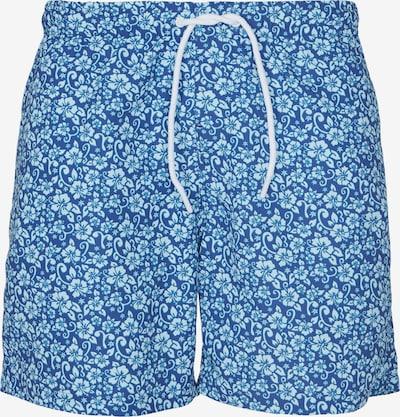 Urban Classics Zwemshorts in de kleur Navy / Wit, Productweergave