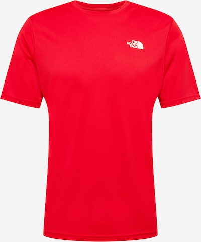 THE NORTH FACE Funktionsshirt en rot / weiß, Vue avec produit