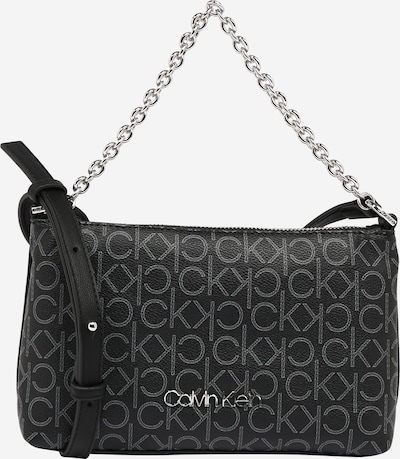Calvin Klein Torba preko ramena u siva / crna, Pregled proizvoda