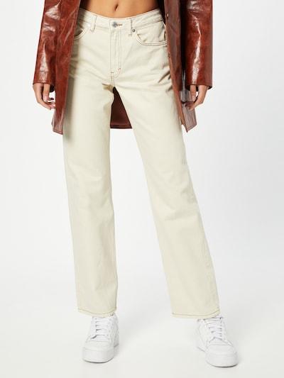 WEEKDAY Jeans in ecru, Modelansicht
