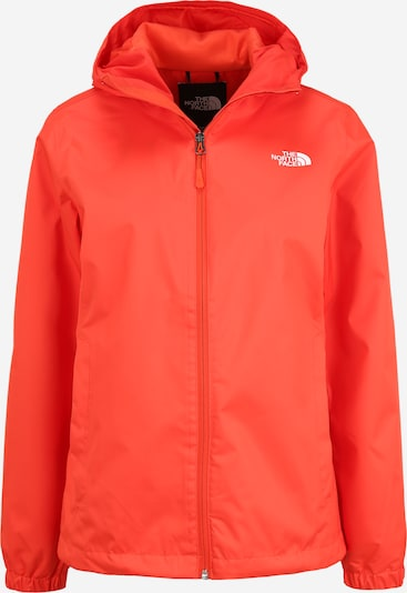 THE NORTH FACE Veste outdoor 'Quest' en corail / blanc, Vue avec produit