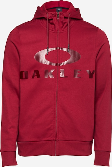 OAKLEY Sportovní mikina s kapucí 'BARK' - červená, Produkt