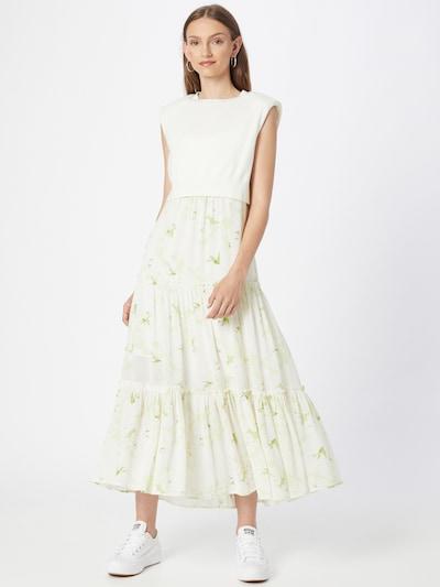 AllSaints Kleid 'Enes Salvation' in schilf / weiß, Modelansicht