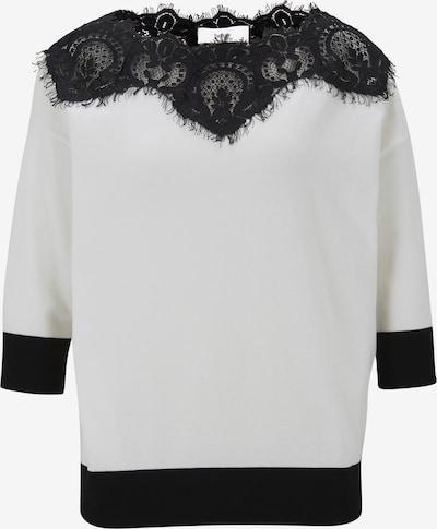 Megztinis iš heine , spalva - nebalintos drobės spalva / juoda, Prekių apžvalga