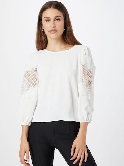 ONLY Блуза 'ALBERTA' в бяло: Изглед отпред