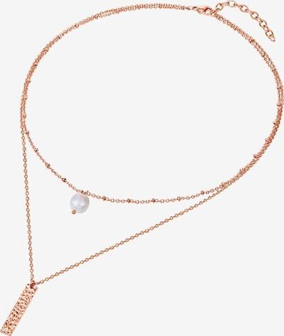 Valero Pearls Perlen-Kette in rosegold, Produktansicht