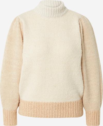 PIECES Sweater 'FELISIA' in Powder / Off white, Item view