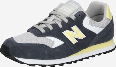 new balance Zapatillas deportivas bajas en amarillo / gris / blanco, Vista del producto