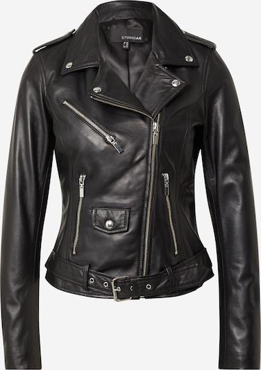 Studio AR Between-Season Jacket 'KOURTNEY' in Black, Item view