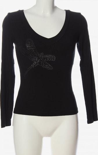 VSCT Langarm-Bluse in S in schwarz, Produktansicht
