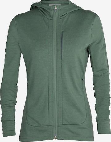 žalia ICEBREAKER Sportinis džemperis 'Quantum III'