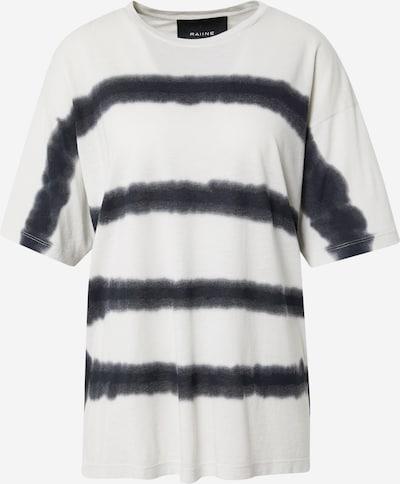 RAIINE Camiseta en crema / negro, Vista del producto