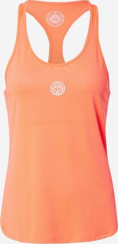 Haut de sport 'Mea' BIDI BADU en orange