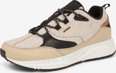 WODEN Sneaker 'Malou' in beige / schwarz, Produktansicht