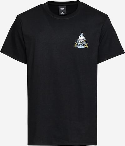 Maglietta HUF di colore blu chiaro / giallo / nero / bianco, Visualizzazione prodotti