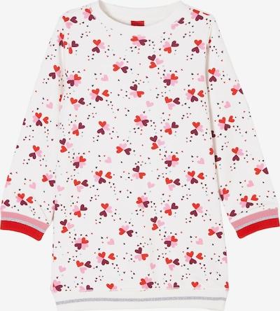 s.Oliver Kleid in pink / rosa / rot / weiß, Produktansicht