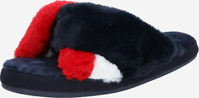 TOMMY HILFIGER Pantoufle en bleu / rouge / blanc, Vue avec produit