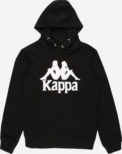 KAPPA Sweatshirt 'TAINO' in schwarz / weiß, Produktansicht