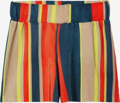 NAME IT Gestreifte Plissee Shorts in mischfarben, Produktansicht
