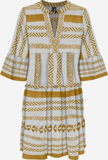 VERO MODA Tunika in gold / weiß, Produktansicht