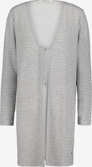 Public Shirtjacke mit Schnürung in hellgrau, Produktansicht