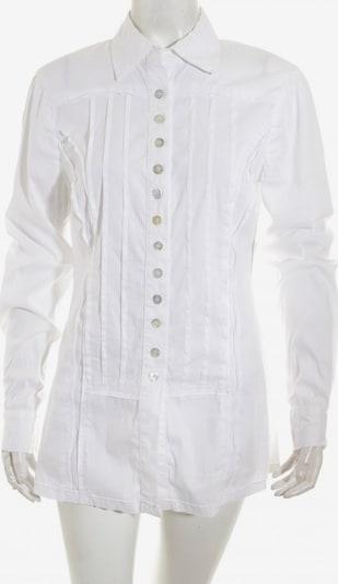 Basset Langarm-Bluse in S in weiß, Produktansicht
