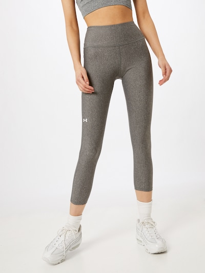 UNDER ARMOUR Workout Pants in mottled grey, View model