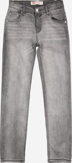LEVI'S Jeans '502 Regular Taper' in grey denim: Frontalansicht
