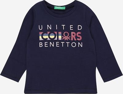 UNITED COLORS OF BENETTON Shirt in navy / gelb / melone / wollweiß, Produktansicht