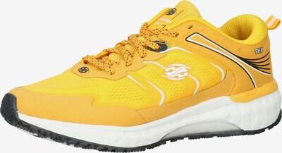 Dockers by Gerli Sneaker in gelb / schwarz / weiß, Produktansicht