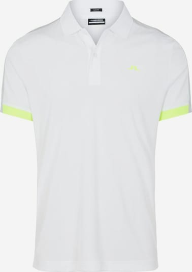 J.Lindeberg Shirt 'Rowland' in de kleur Kiwi / Wit, Productweergave