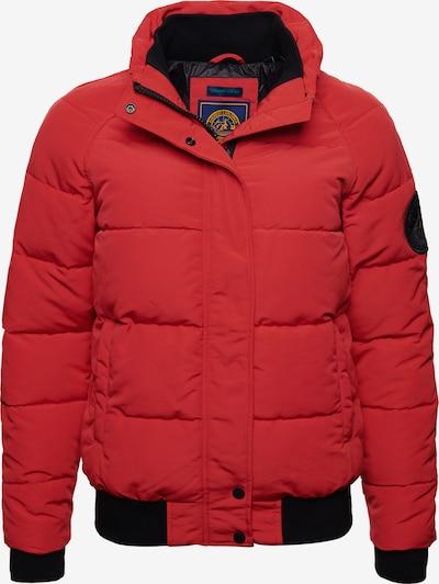 Superdry Bomberjacke 'Everest' in hellrot, Produktansicht
