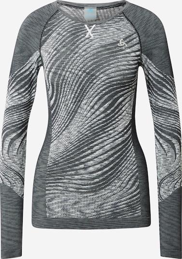 ODLO Shirt 'Blackcomb' in grau / weiß, Produktansicht