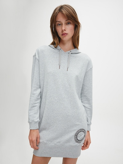 Calvin Klein Underwear Oversized dress in Grey mottled, View model