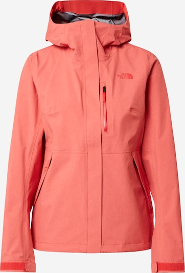 THE NORTH FACE Regenjacke 'Dryzzle' in melone, Produktansicht