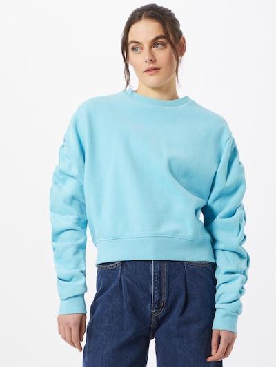 Bluză de molton Levi's Made & Crafted pe albastru deschis: Privire frontală