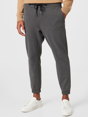 BOSS Casual Trousers 'Taber' in Grey
